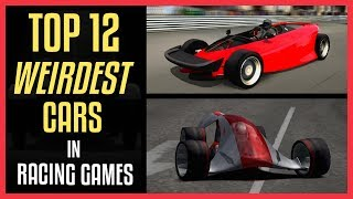 TOP 12 WEIRDEST CARS in Racing Game History (GT, NFS, Forza, PGR...)