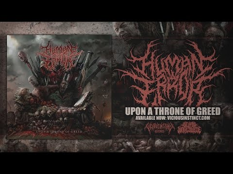 HUMAN ERROR - UPON A THRONE OF GREED [OFFICIAL EP STREAM] (2017) SW EXCLUSIVE