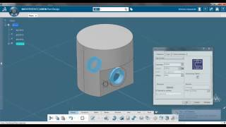 Simple Piston CATIA V6 - 3DExperience