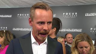 BlacKkKlansman New York Premiere - Itw Jasper Paakkonen (official video)