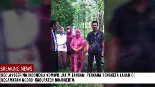 Reclasseering Indonesia Dlm Upaya Membantu Perkara Tanah Di Kec. Ngoro Kab. Mojokerto.