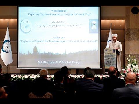 'Kudüs'ün Turizm Potansiyeli Çalıştayı'