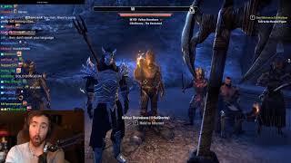 Asmongold's Second Stream of The Elder Scrolls Online | FULL VOD