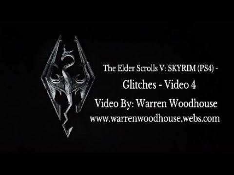 the elder scrolls v skyrim ps4 glitches video 4 youtube. Black Bedroom Furniture Sets. Home Design Ideas