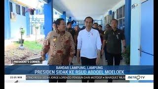 Kunjungan Kerja Presiden Jokowi di Lampung
