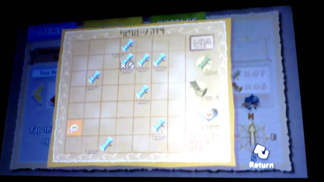 The Legend Of Zelda Wind Waker Hd Sea Charts Hidden Location You