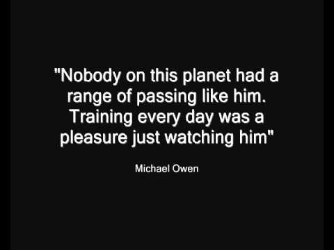 Paul Scholes - In Quotes - YouTube