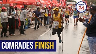 WATCH: Amputee runner's inspiring Comrades finish
