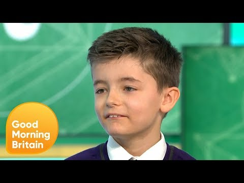 10-Year-Old Beats His Own Record and Recites Pi to 258 Places | Good Morning Britain