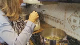 Ep. 116: Chicken Spinach Ravioli Soup