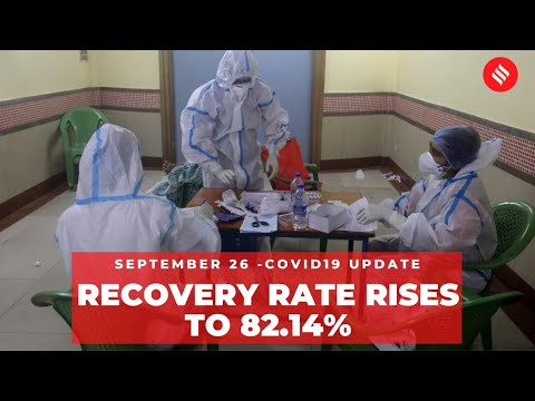 Coronavirus Update: India's Covid-19 recovery rate rises to 82.14% on Sept 26
