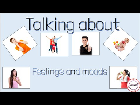 Talking About Feelings And Moods, English Video Lesson