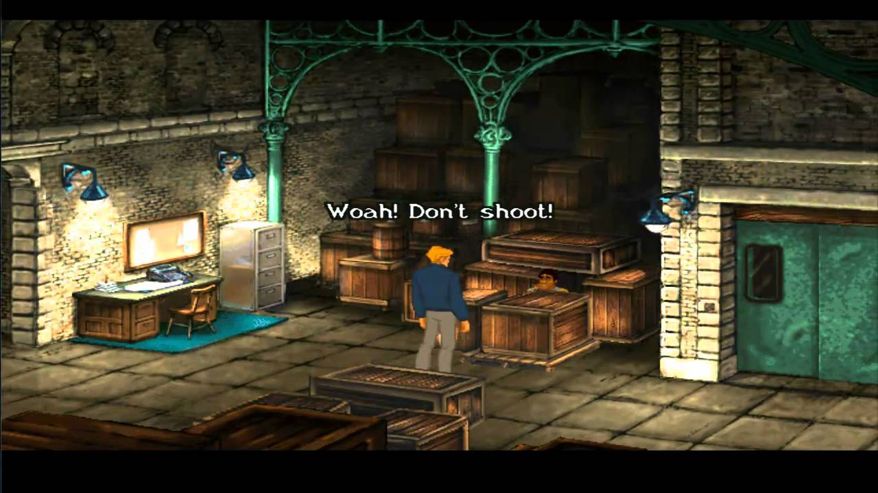 Broken sword ii the smoking mirror hd walkthrough part for Mirror gameplay walkthrough
