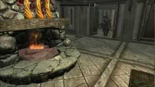 Skyrim Hearthfire House Redecorated - Part 1