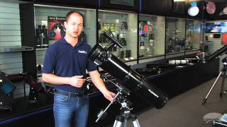Features of the Orion SpaceProbe 130 EQ Reflector Telescope - Orion Telescopes & Binoculars