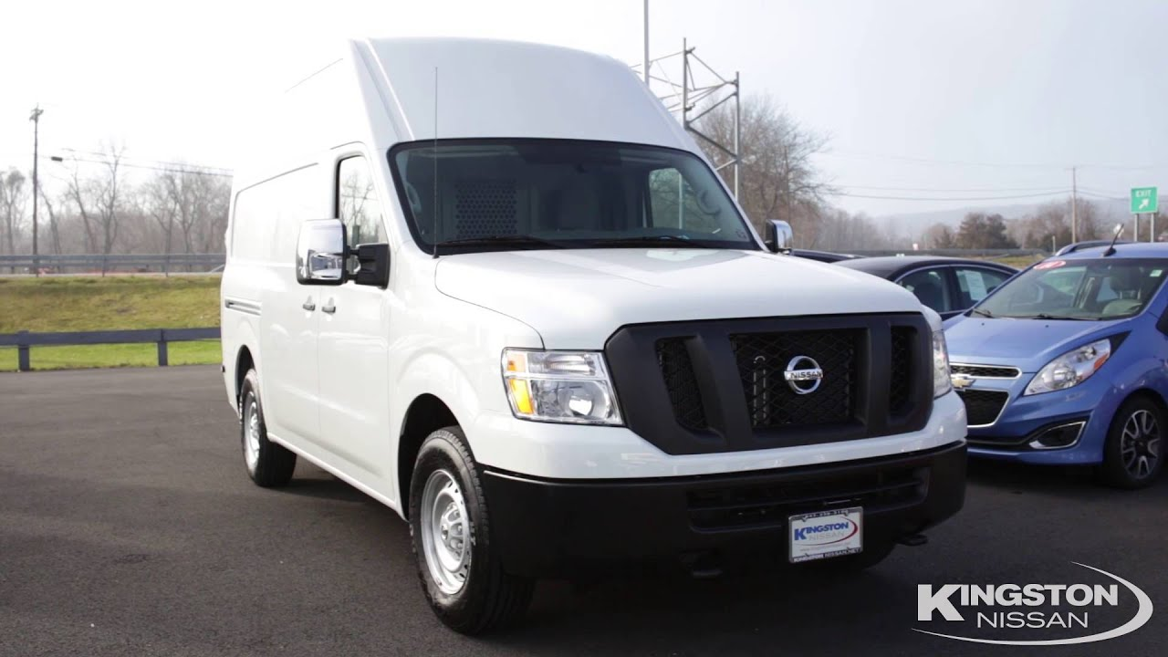 See The 2016 Nissan NV3500 S High Roof Cargo Van In NY Kingston
