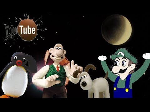 Youtube Poop: Wallace And The Cheese Moon Invasion