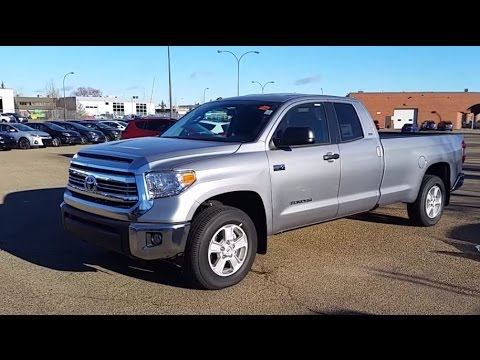 2016 toyota tundra double cab 5 7l long box review and walk around youtube. Black Bedroom Furniture Sets. Home Design Ideas