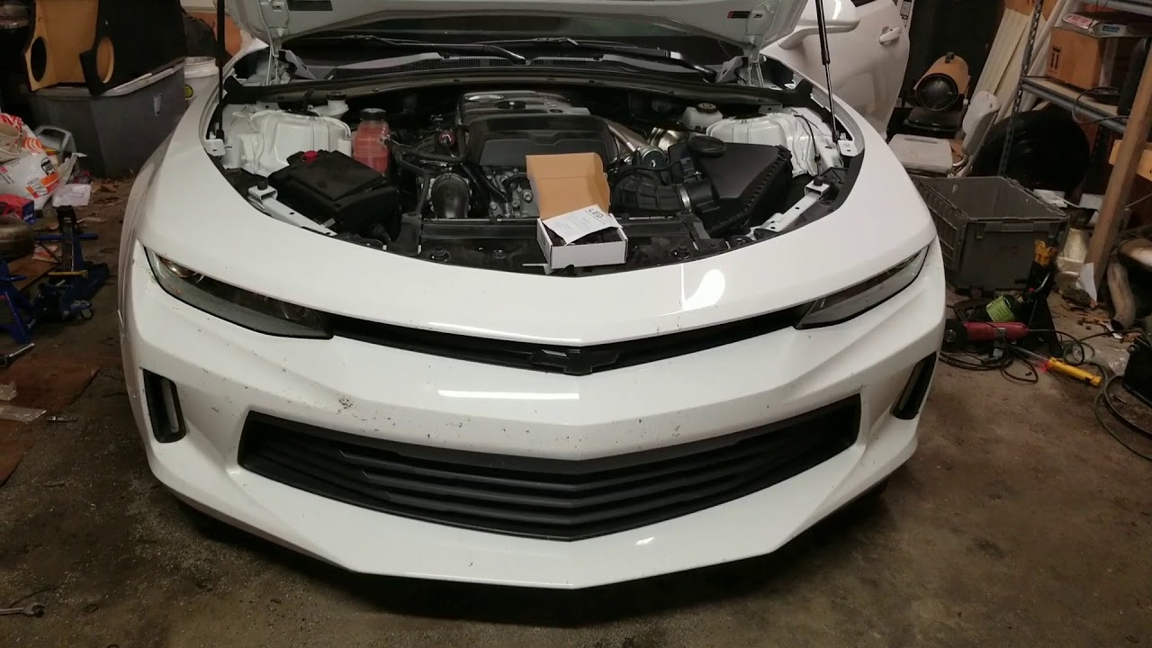 How To Change The Headlight Bulbs In A 2017 Camaro Install Led