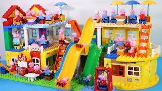 Peppa Pig Lego House Creations Toys - Lego House With Water Slide Toys For Kids #7