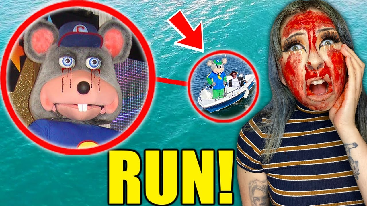 If You See CURSED Chuck E Cheese on a Haunted Boat, RUN AWAY FAST!!