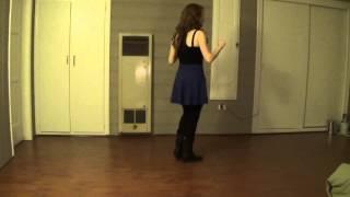 Riverbank Stomp (Line Dance) - Demo & Teach