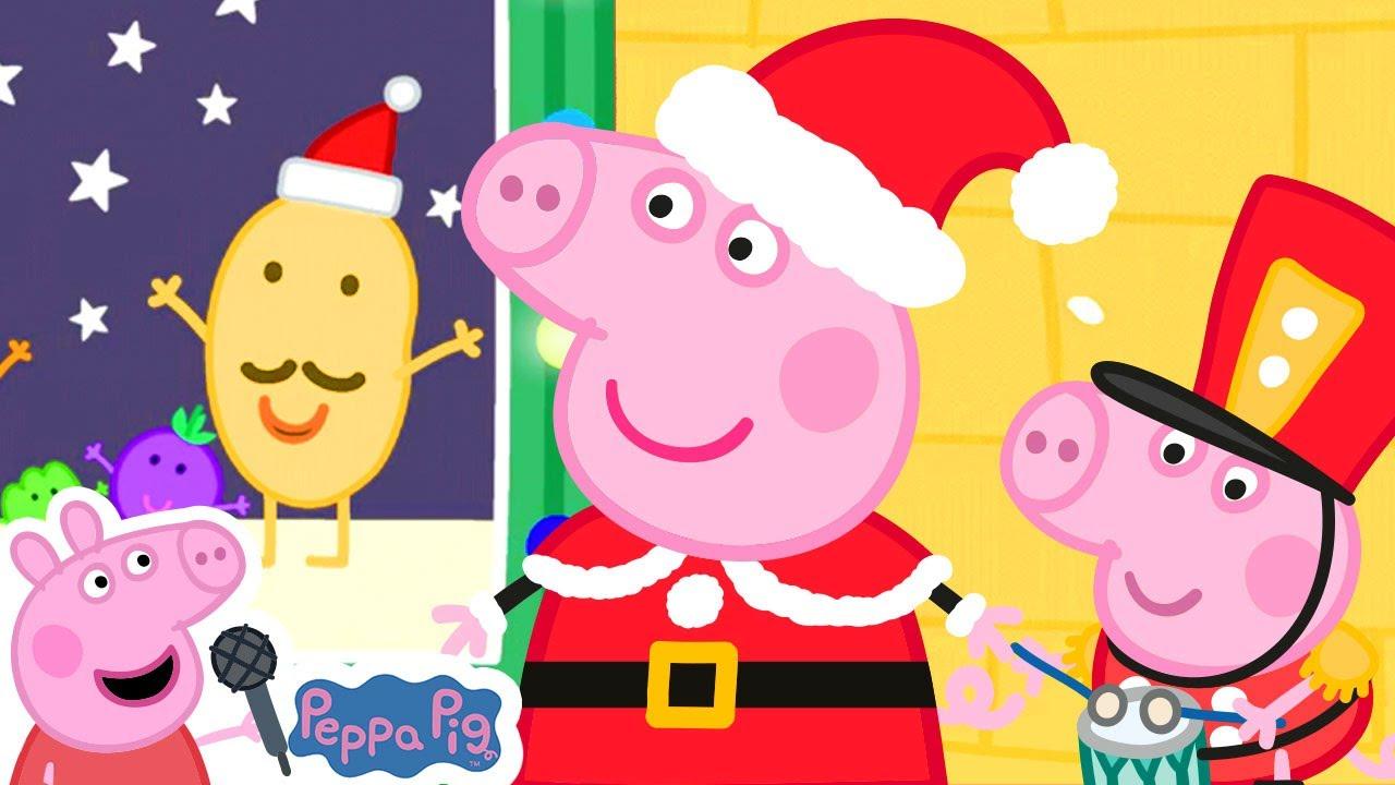 Peppa Pig Christmas   We Wish You a Merry Christmas   Peppa Pig Songs   Nursery Rhymes