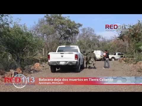 VIDEO Balacera deja dos muertos en Tierra Caliente
