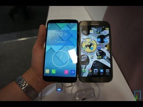 Alcatel One Touch Hero vs. Galaxy Note 2 deutsch Vergleich