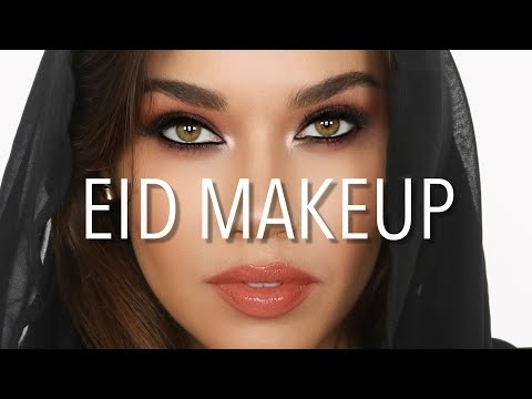 Eid Makeup Tutorial | Arabic Eyes | Eman thumbnail