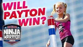 Will Payton Delu WIN NINJA WARRIOR JR?? 😱(Ninja Kidz TV) | Universal Kids