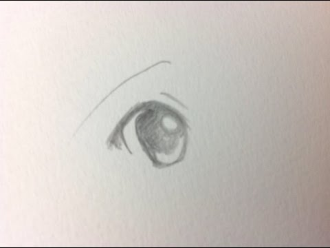 how to draw manga eyes for beginners