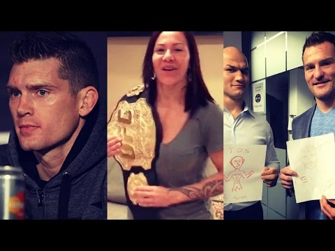 Wonderboy wants Condit or Lawler next, Cris Cyborg vacates Invicta belt, wants GDR fight at UFC 214