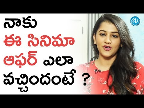 Siman Sharma About How She Got Ego Offer || Talking Movies With iDream