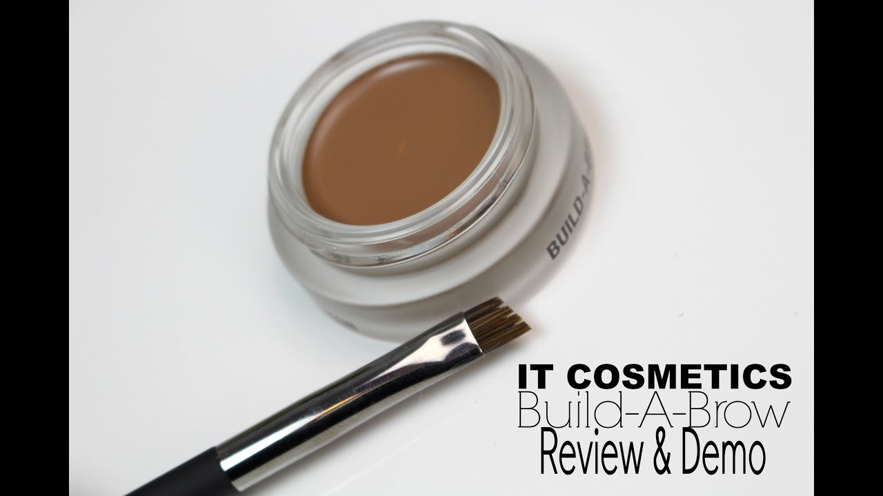 It Cosmetics Build A Brow Review Demo Bailey B Youtube