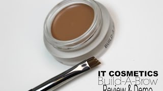 IT Cosmetics Build-A-Brow Review & Demo | Bailey B.