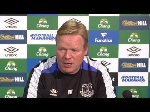 Ronald Koeman's pre-Middlesbrough press conference