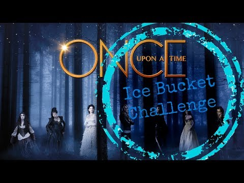Ice Bucket Challenge ONCE UPON A TIME cast