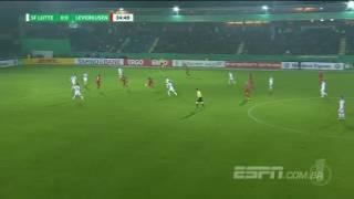 ZEBRA NA COPA DA ALEMANHA!!! (Gols - Lotte 2(4)x(2)2 Bayer Leverkusen)