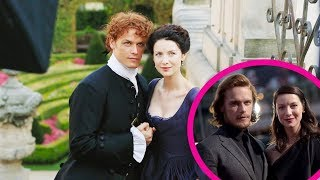 Sam heughan and caitriona balfe relationship video clip