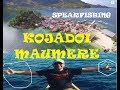 ADVENTURE SPEARFISHING FISHING SNORKLING AT KOJADOI ISLAND MAUMERE INDONESIA