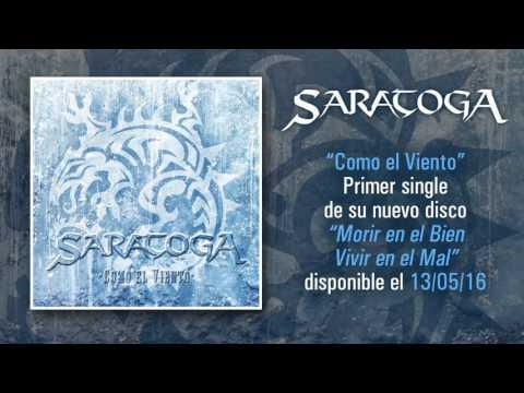 """SARATOGA """"Como El Viento"""" (Audio single)"""