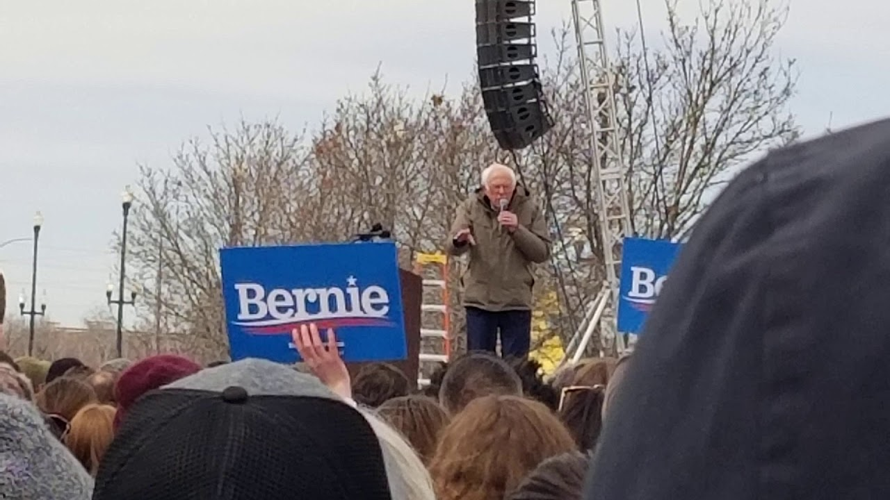Sanders reveals secret socialist agenda to Salt Lake City
