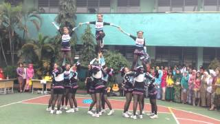 Glamz Cheerleader SMAN 103 jakarta(hut kartini)