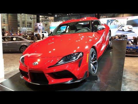 2020 Toyota Supra Walkaround (2019 Chicago Auto Show)