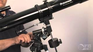 celestron Powerseeker 80EQ Telescope with Motor - OpticsPlanet.com Product in Focus