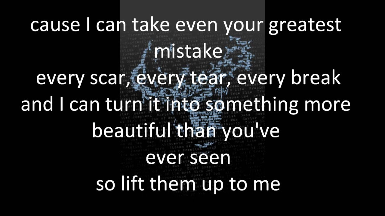 Matthew west all the broken pieces (with lyrics)