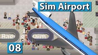 Sim Airport #8 ► SECURITY UMBAU( ► Der Flughafen Bau und Management Simulator