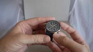 Citizen Blue Angels World Chronograph A-T AT8020 Watch Review