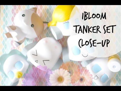 IBloom Tanker Squishy Set Close-up